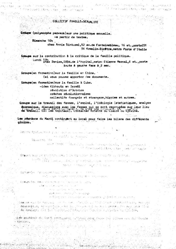Bulletin du MLF n°5, mi-février 1971 (extrait 3)