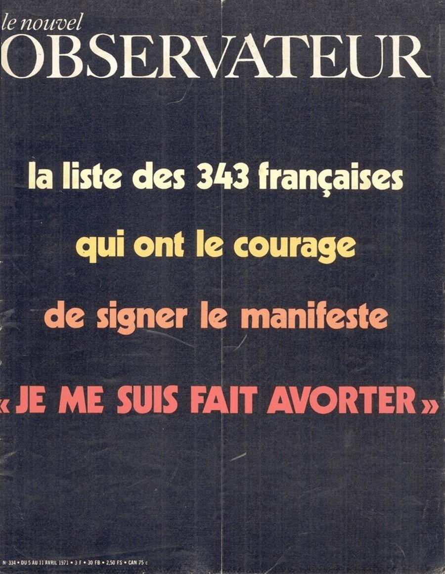Le Nouvel Observateur, 5 avril 1971
