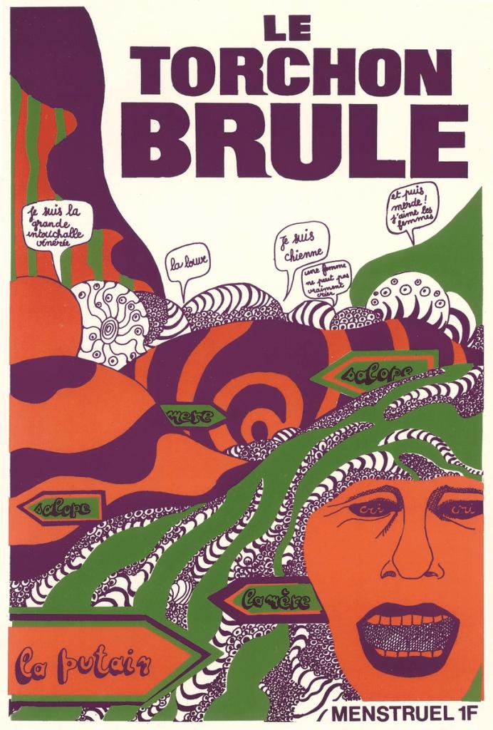Le Torchon brûle, premier journal du MLF, premier numéro 1971