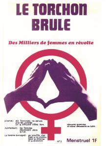 Le Torchon brûle, premier journal du MLF, 1971
